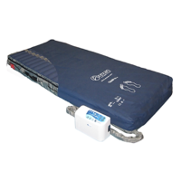 All-air automatic mattress replacement system with alternating and continuous low pressures CliniPro